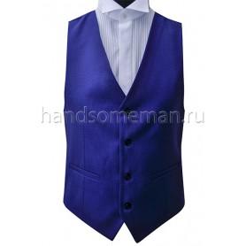 Жилет мужской ярко-синий Арт.№1476