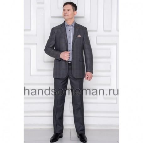 Пиджак мужской серый