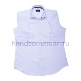 рубашка мужская белая - Арт.1537