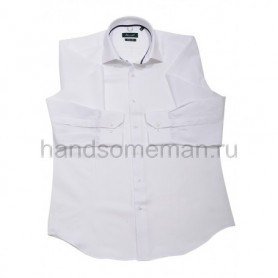 рубашка мужская белая - Арт.1538