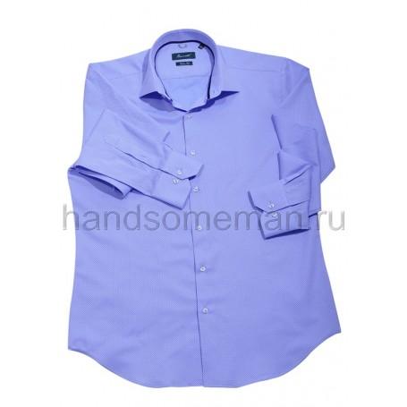 рубашка мужская голубая - Арт.1540