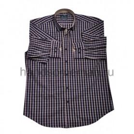 рубашка мужская темная - Арт.1541