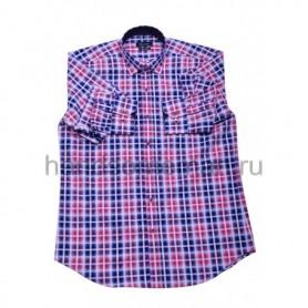 рубашка мужская розовая - Арт.1542