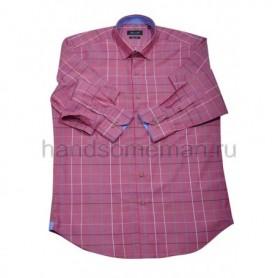 рубашка мужская красная - Арт.1545
