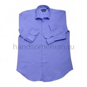 рубашка мужская голубая - Арт.1546