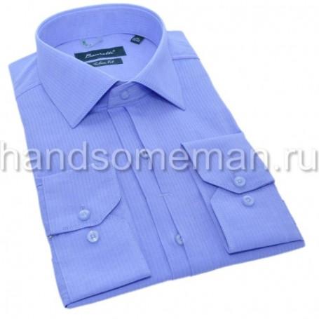 мужская рубашка голубая Арт. 1554