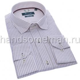 мужская рубашка серая Арт. 1557