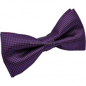бабочка для смокинга тёмно фиолетовая