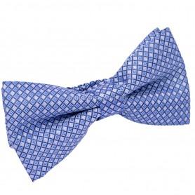 бабочка для костюма светло голубая