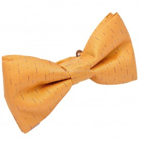 бабочка для костюма желтая