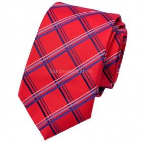 галстук для рубашки красный