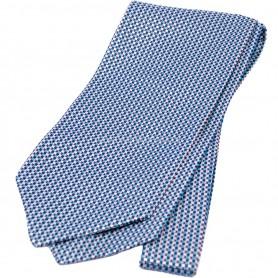 мужской галстук синий