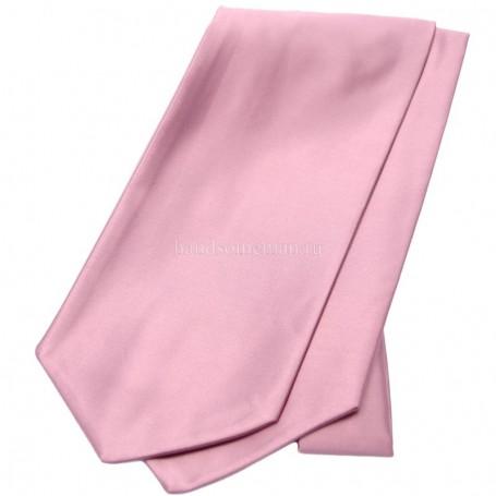 галстук розовый
