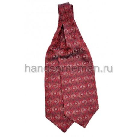 Шейный платок красного цвета. 431