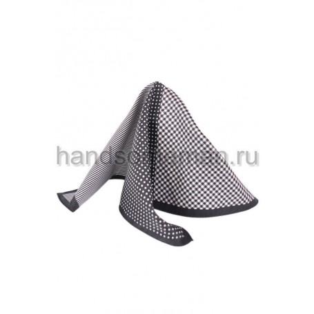 платок в карман сине-серый.  488