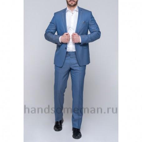 Синий мужской костюм