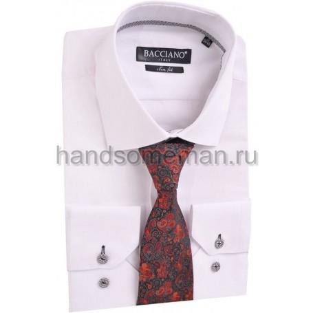 галстук черный в красивых цветах. 591