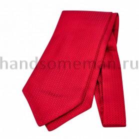 Шейный платок красного цвета