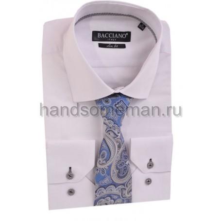 галстук  чернильный с серыми огурцами. 599