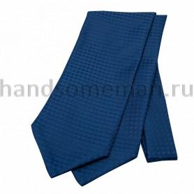 Шейный платок синий