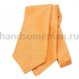 Шейный платок желтого цвета