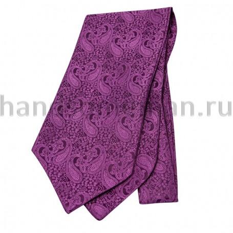 Шейный платок сиреневый