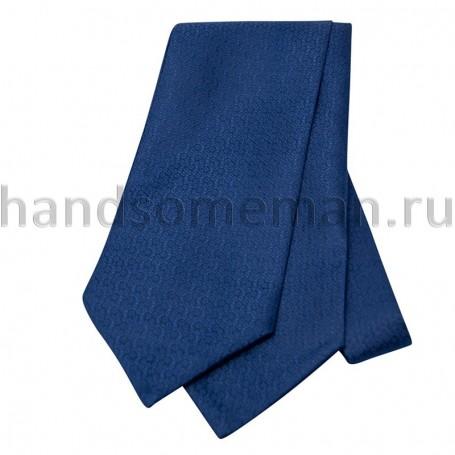 Шейный платок синего цвета