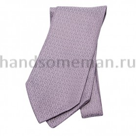 Шейный платок бледно сиреневый