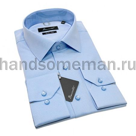 Рубашка голубая БАУРОТТИ.