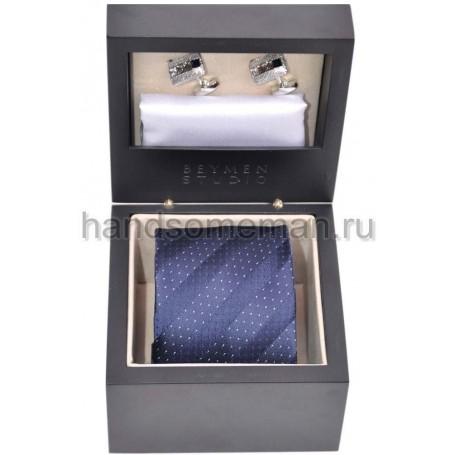Подарочный набор Baurotti с полосатым галстуком. 625
