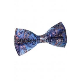 Бабочка голубая с вензелями. 682