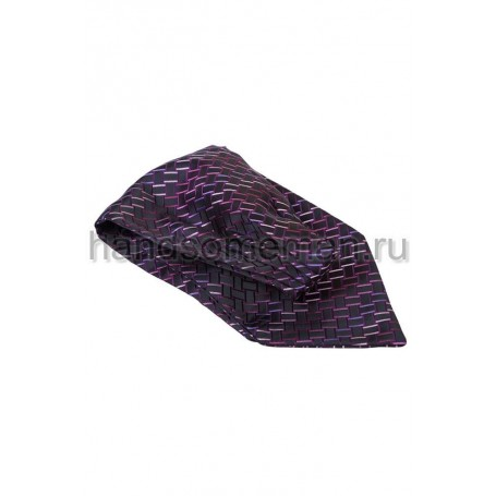Шейный платок Baurotti в квадратик. 696