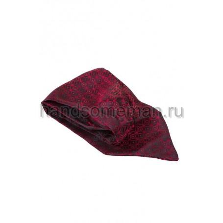 Шейный платок Baurotti бордового цвета. 698