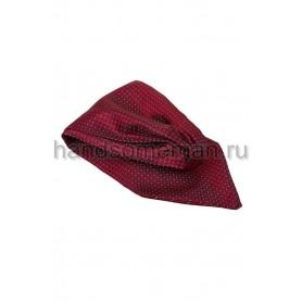 Шейный платок Baurotti темно-красного цвета. 701