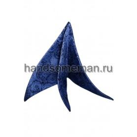 платок в карман темно-синий. 706