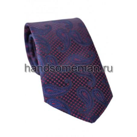 галстук красивый, с рисунком. 717
