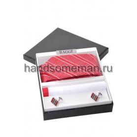 Подарочный набор с красным галстуком. 244