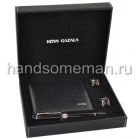 Подарочный набор с кожаным бумажником. 954