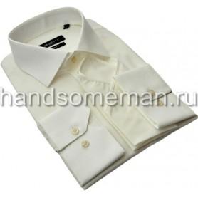Мужская классическая рубашка, шампань. 962
