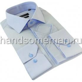 рубашка голубая. 979