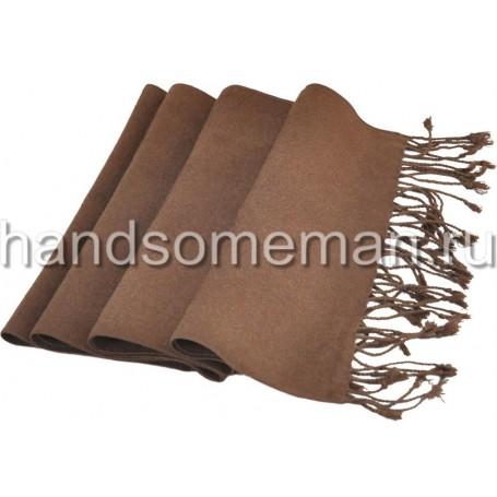 Шарф коричневый. 998