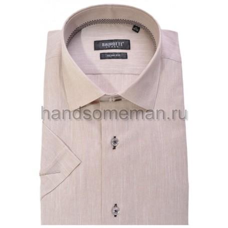 рубашка короткий рукав, меланж. 317