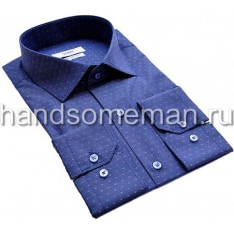Мужская рубашка с двойным швом.1158