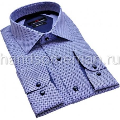рубашка комбинированная с отделкой. 1217