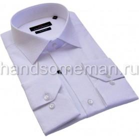 рубашка бледно-сиреневая 1229