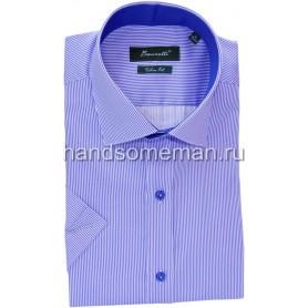 рубашка мужская с коротким рукавом.1236