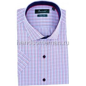 рубашка мужская с коротким рукавом, оригинальная. 1251