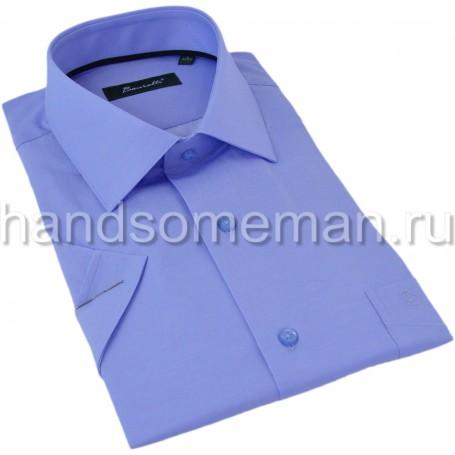 Мужская рубашка, синяя. 1294