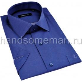 рубашка мужская с коротким рукавом, молтено. 1296