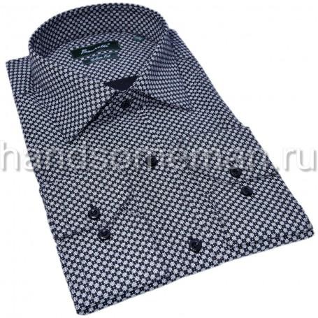 Приталенная рубашка для молодых людей. 1338